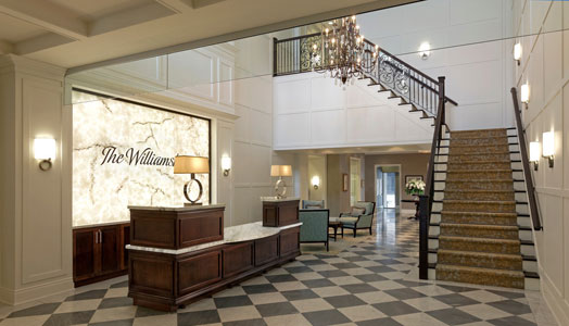 The Williamsburg Uptown retirement home by Newcombe Design Group