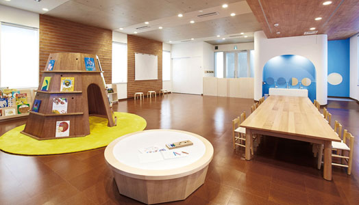 Familiar Preschool by Igarashi Design Studio Tokyo