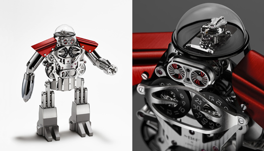 R2D2- the Melchior Only Watch conceptualised by MB&F