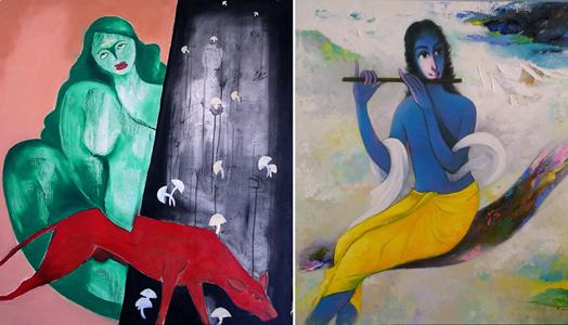 painting by arun awasarmol and eknath giram