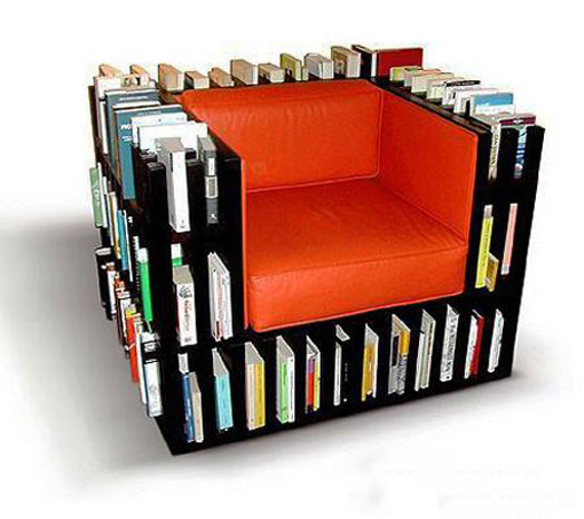 furniture as book storage