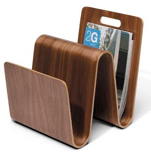 portable magazine rack