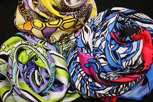 Emily Carter's scarves