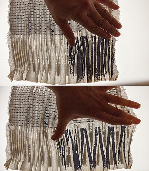 Johanna Samuelsson's woven fabric
