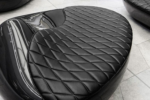 carbon seating at das gerber shopping mall