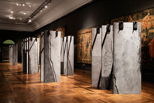 ogham wall at LDF2015