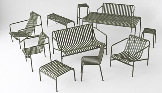 Pallisade - outdoor furniture by Ronan & Erwan Bouroullec