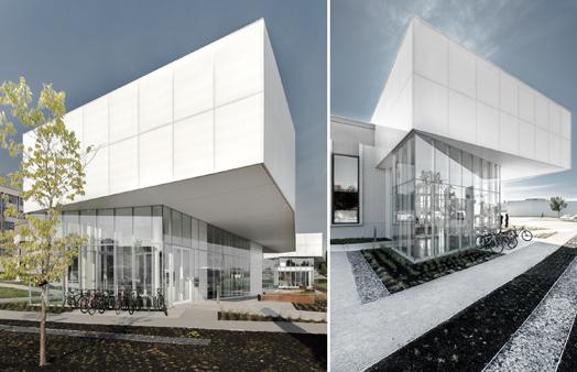 saul-bellow library facade