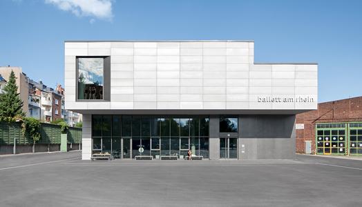 building facade - Ballett am Rhein Dusseldorf