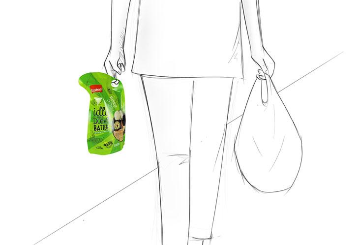 no carry-bag needed