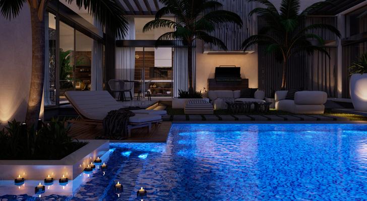 luxury villa in Sardenia
