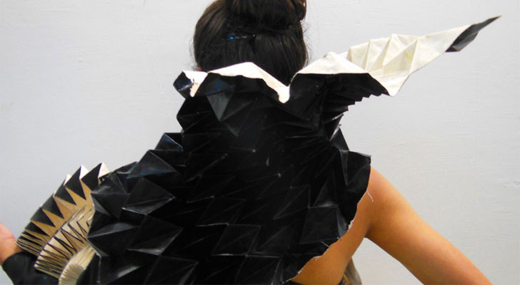 origami and fashion design