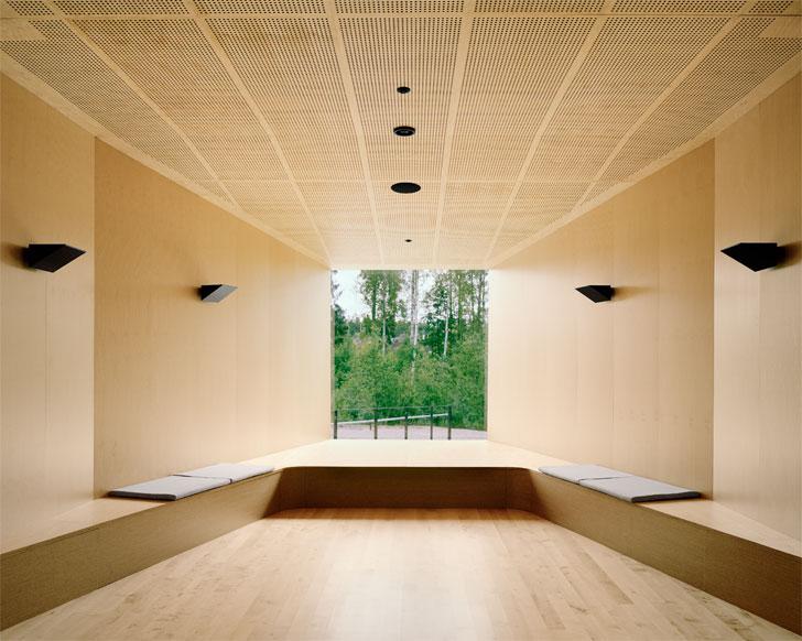 birchwood clad interiors