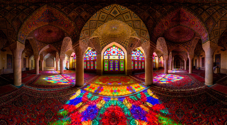The Magnificence of Iranian Mosques!