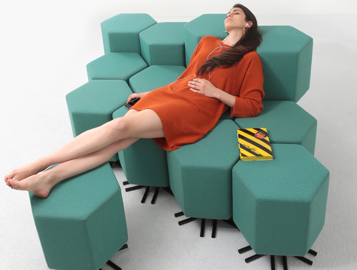 Lift-Bit - the IoT sofa
