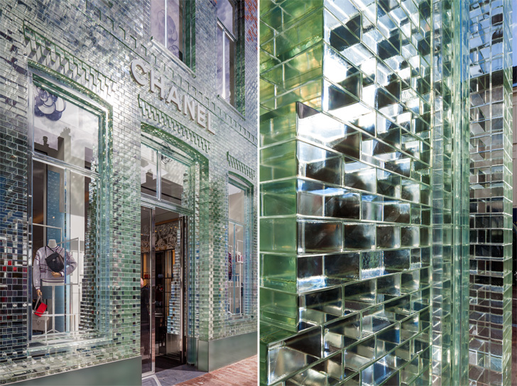 Crystal Houses Amsterdam - glass facade