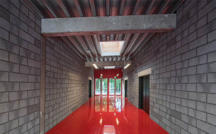 corridor -Ragnarock museum