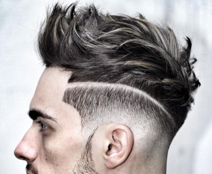 men's hairstyle - undercut