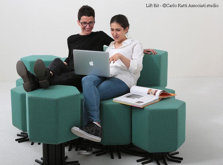lift-bit - the iot sofa by daniele belleri