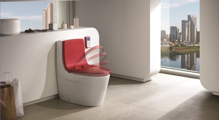 Khromaclin Smart Toilet by Roca