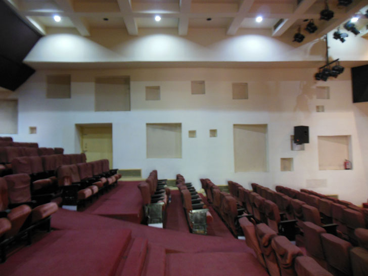 Theatre - Before renovation