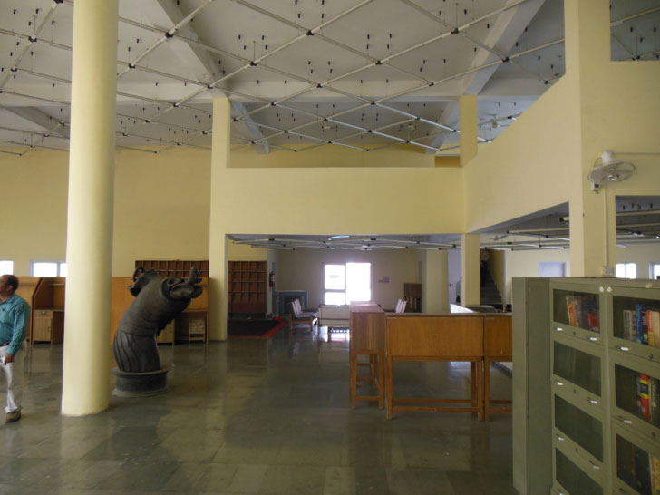 Library - Before renovation