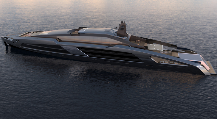 Aqueous 120 superyacht