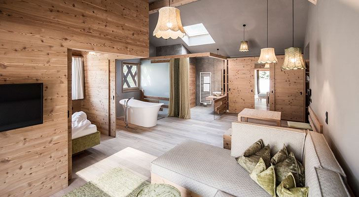 plush bathroom; noa architecture