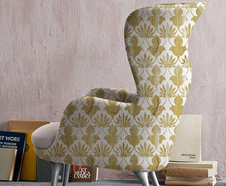Chandni Pradhan's upholstery design