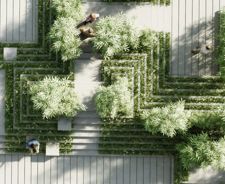 landscape design in Hyderabad by Penda