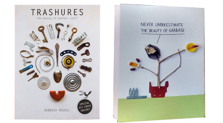 Trashures Book on best from waste