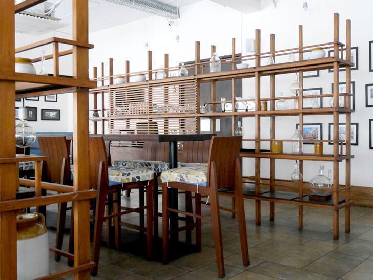 """shelving as partition banduk smith architects indiaartndesign"""