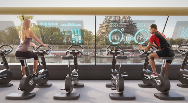 """floating gym Paris CRA indiaartndesign"""