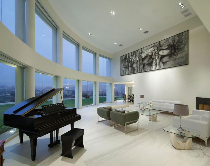 """""""glass facade Casa O Gomez Guerrero Architects indiaartndesign"""""""