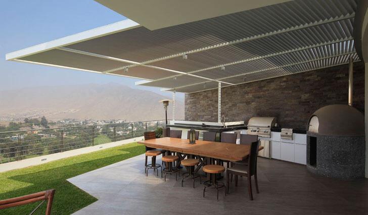 """""""terrace 1 Casa O Gomez Guerrero Architects indiaartndesign"""""""