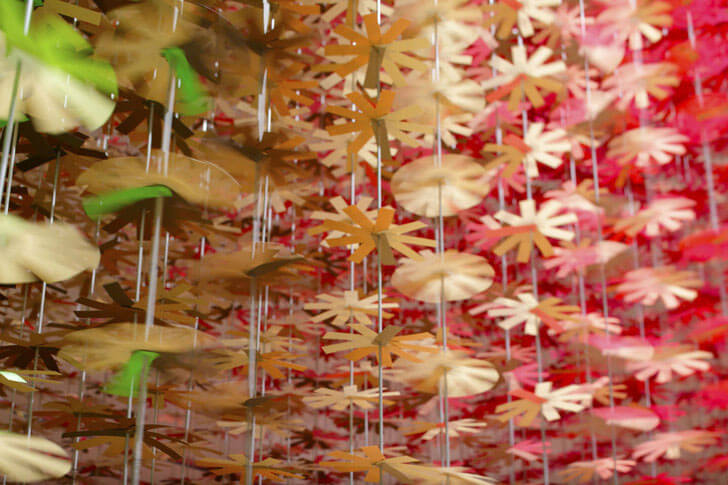 """""""paper flowers ColourMixing emmanuelle moureaux indiaartndesign"""""""