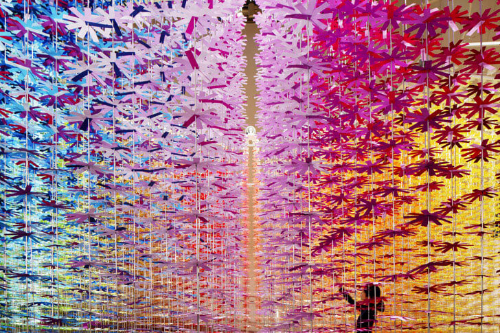 """rotating colours emmanuelle moureaux indiaartndesign"""