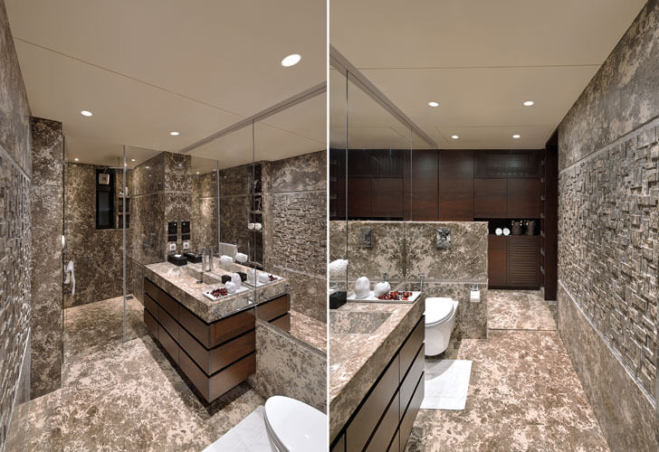 """luxe bathroom SMStudio indiaartndesign"""