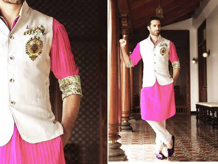 """bright coloured menswear nivedita saboo indiaartndesign"""