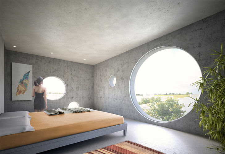 """bedroom Y House MVRDV indiaartndesign"""