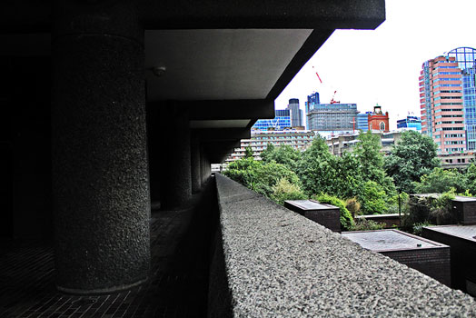 Brutalist Barbican Estate