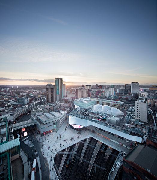 Birmingham-Street-Station-aerial view