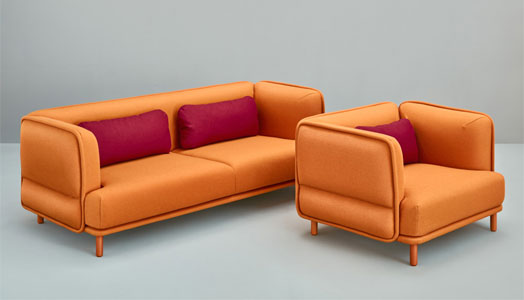 Hug sofa from Missana