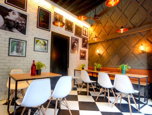 small restaurant