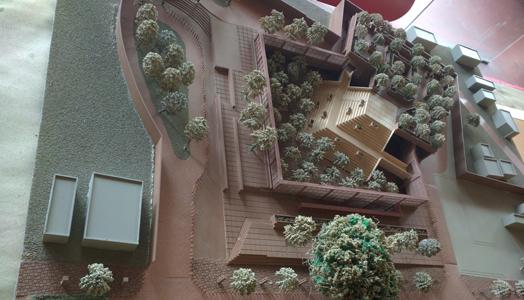 taj ganj redevelopment plan - aerial view