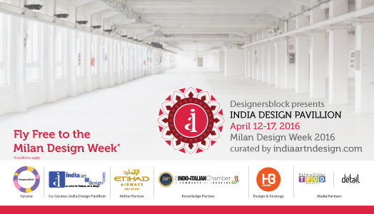 india design pavillion at milan design week  2016