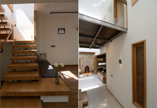 multi-level spaces