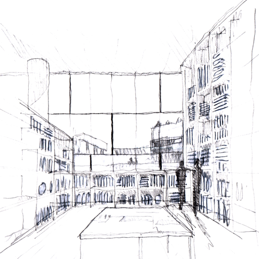 southbank archive studio - sketch