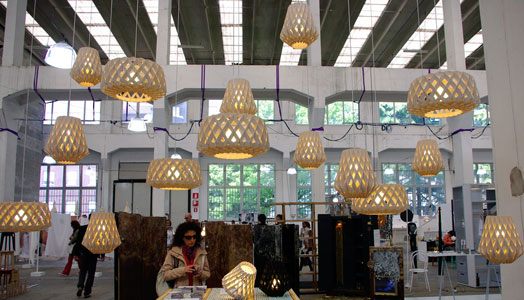 exhibitors at Milan Design Week
