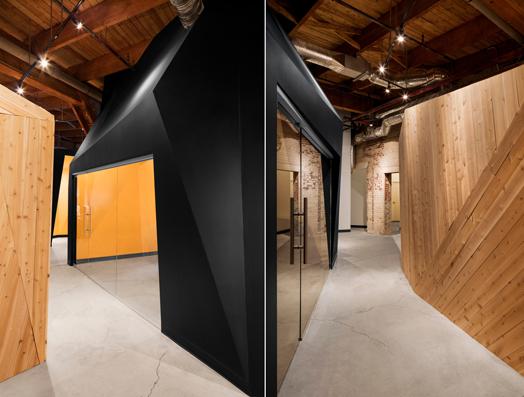 angular corridors